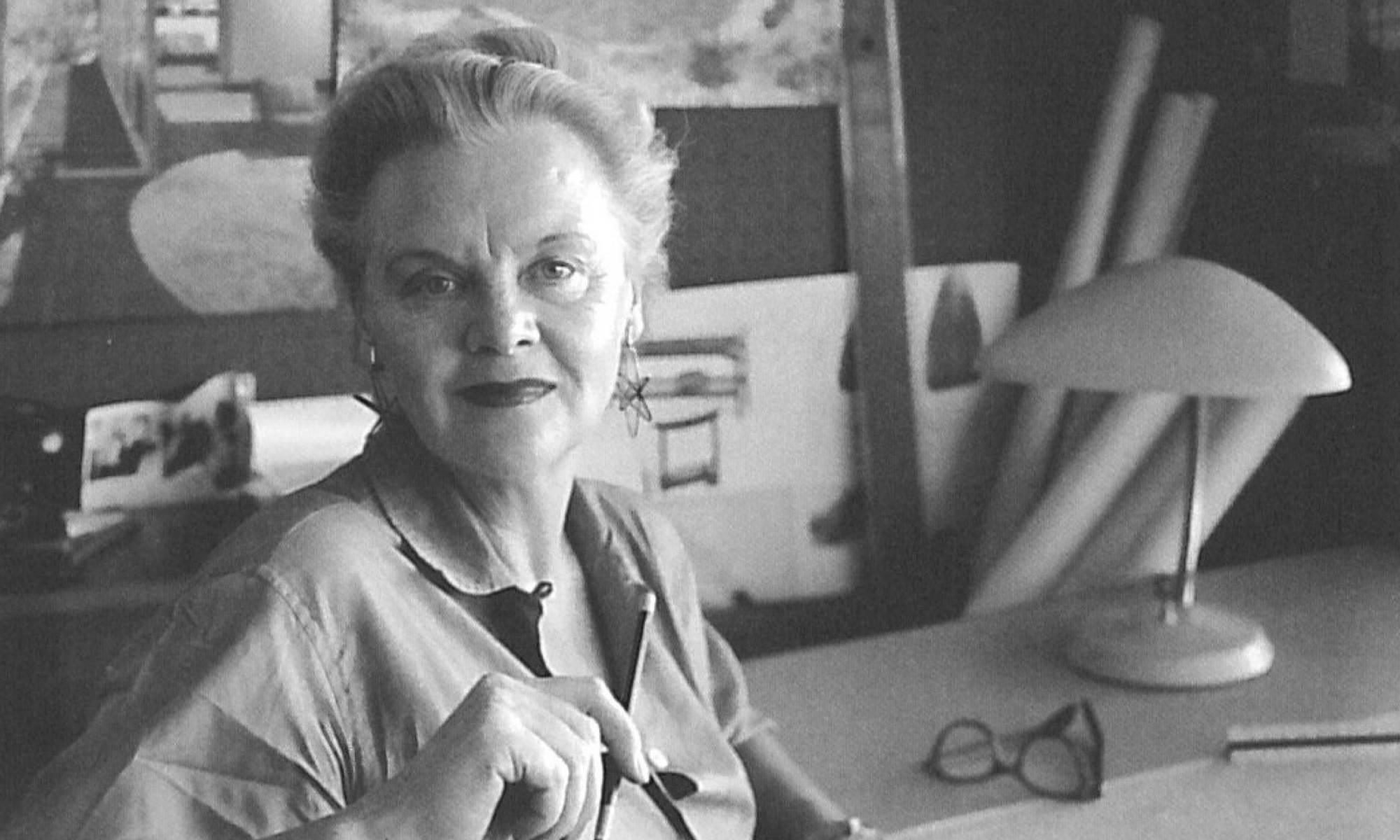 Greta Magnusson Grossman Portrait