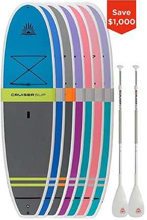 Light Fusion / Bliss Paddle Board Combo