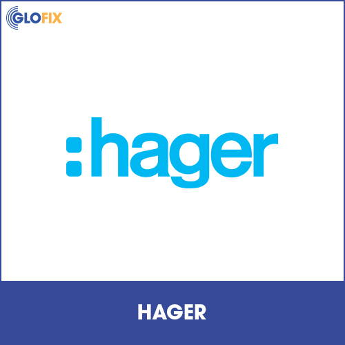 Range of Hager products