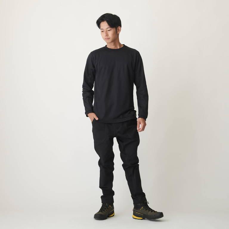 STATIC(スタティック)/アドリフトクルー/ブラック/UNISEX