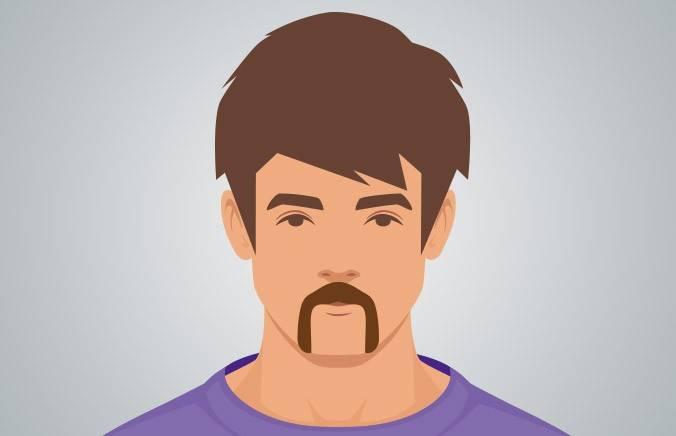 Horseshoe Mustache.