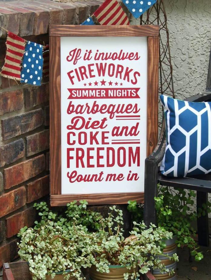 patriotic soda sign downloadable