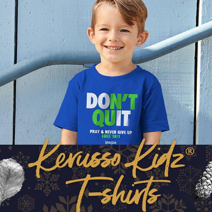 New Kerusso Kidz Christian T-shirts