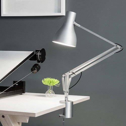 Table & Desk Lamps - Clamp & Shelf Lamps
