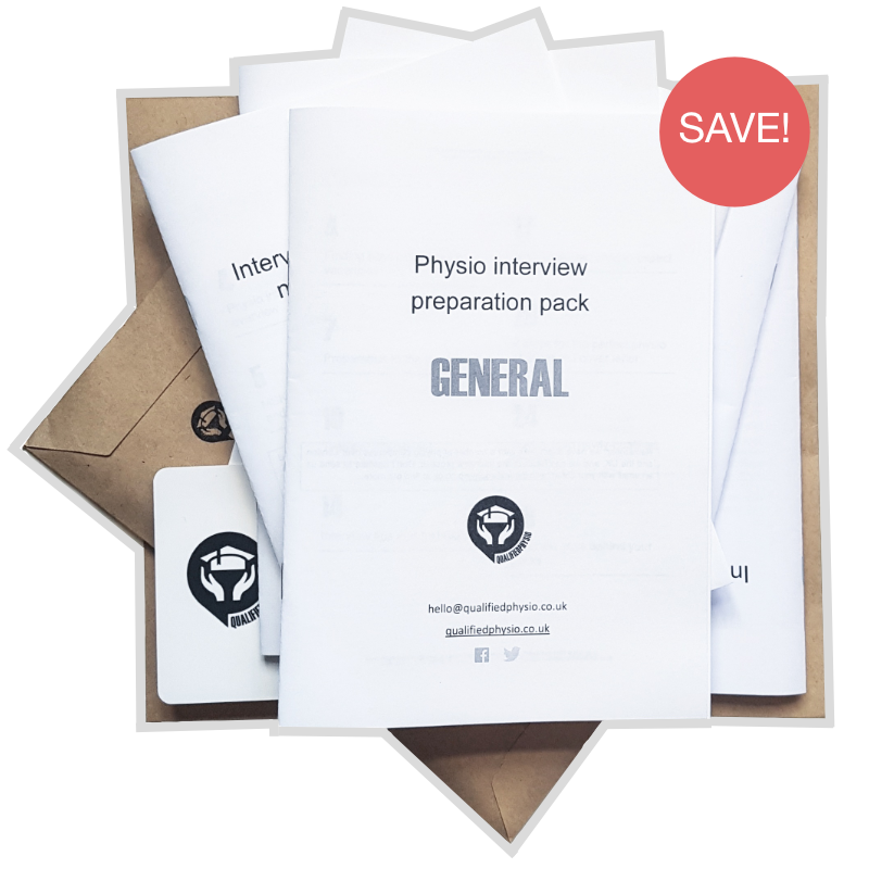 QualifiedPhysio Newly-grad / Band 5 Interview Preparation Pack