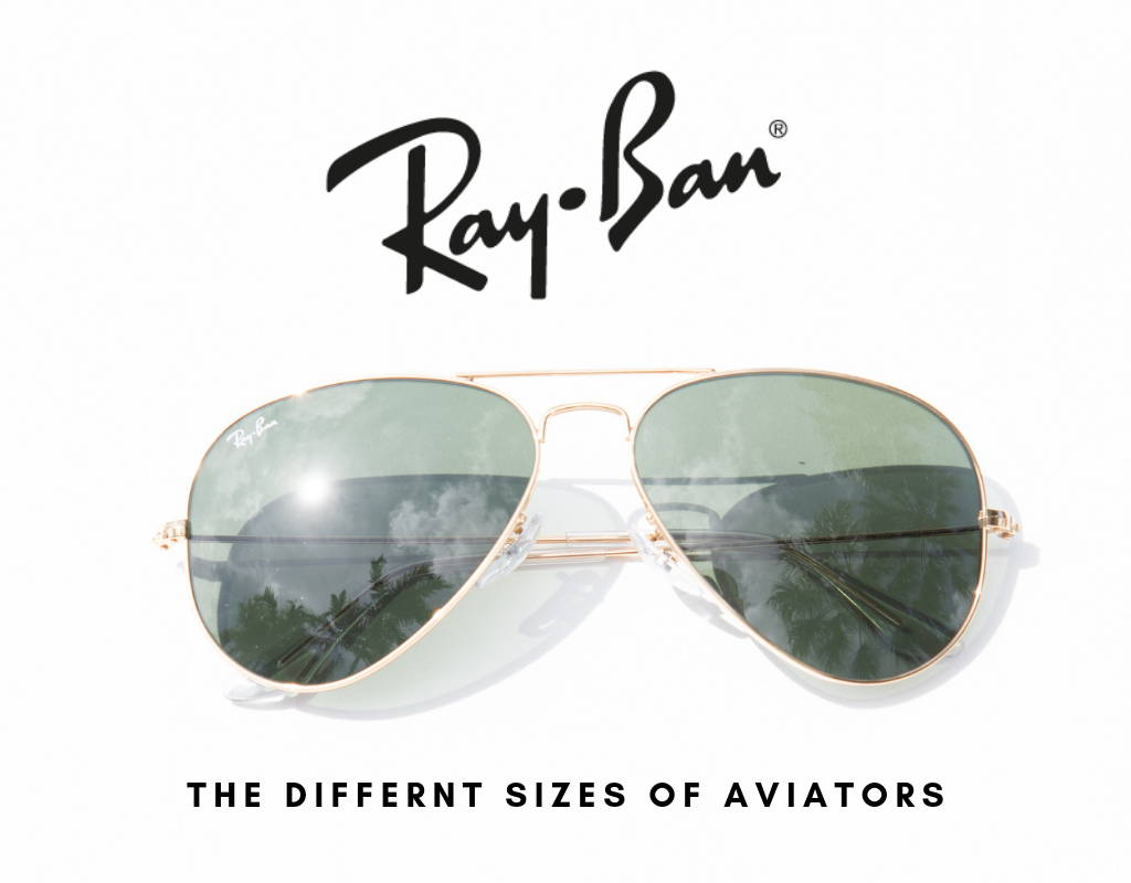 1c5a6b5ff2 SIZE GUIDE ACCORDING TO STYLE. Ray-Ban replacement parts