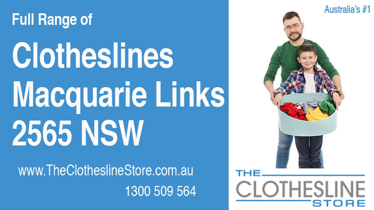 New Clotheslines in Macquarie Links 2565 NSW