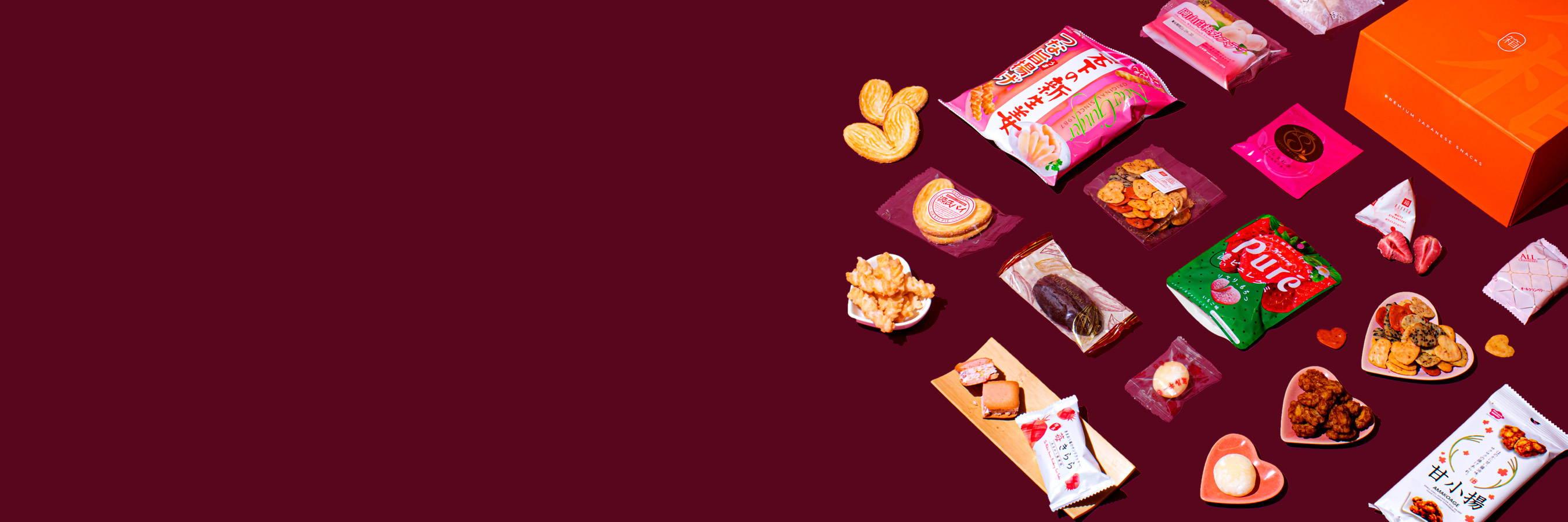 February Japanese snacks from Bokksu