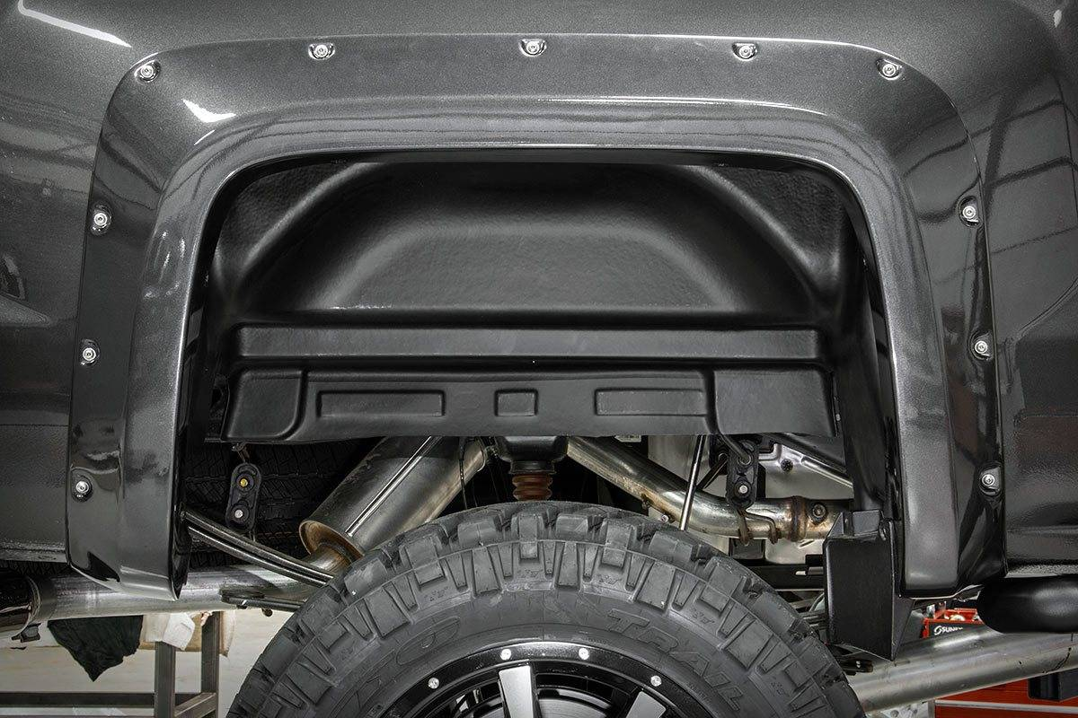 Chevy Rear Wheel Well Liners
