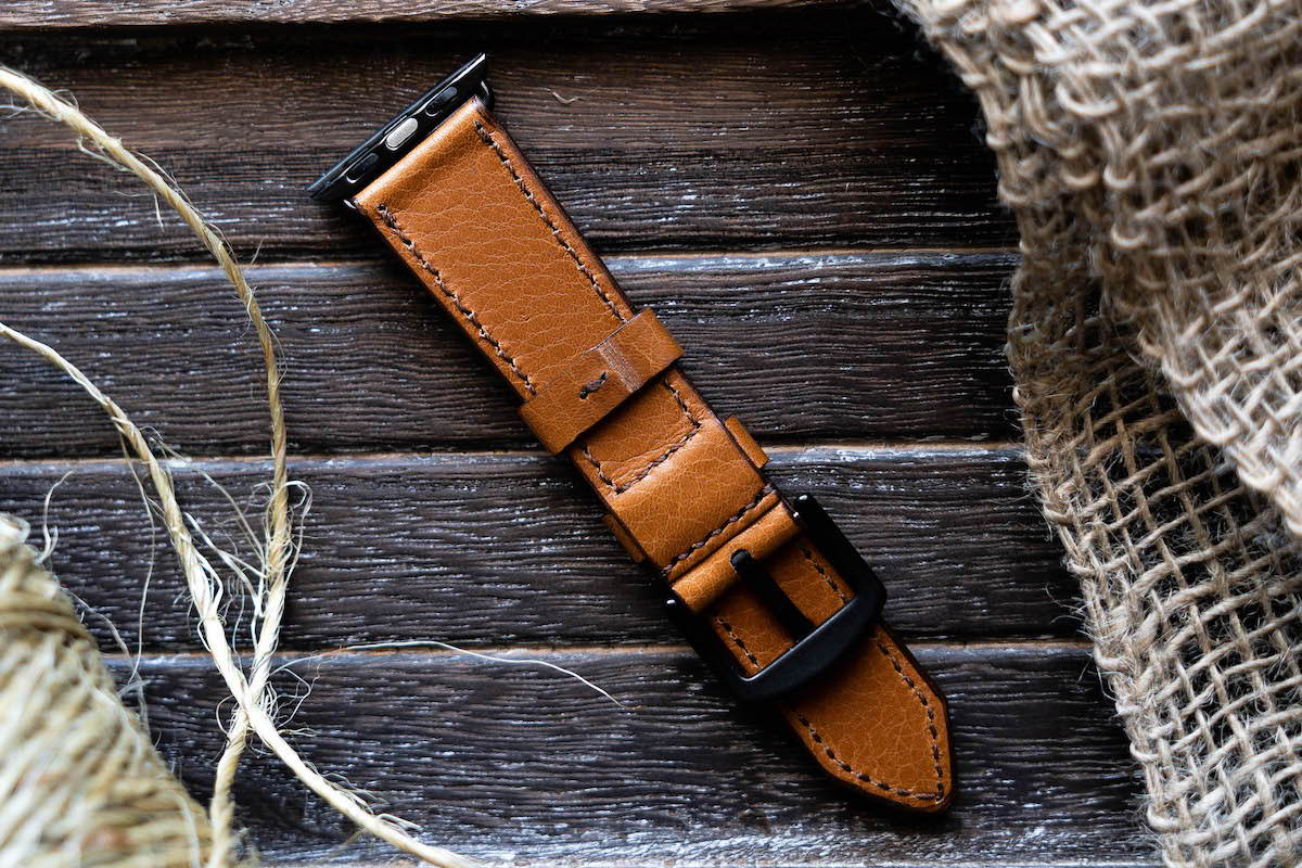 new apple watch leather strap