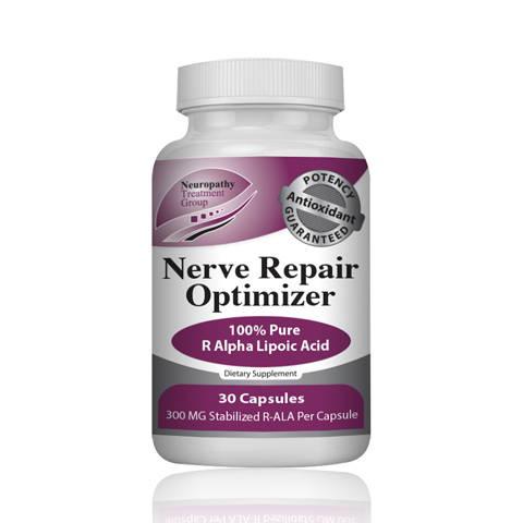 Nerve Repair Optimizer Alpha Lipoic Acid for neuropathy