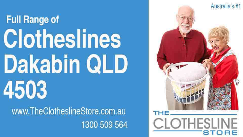 New Clotheslines in Dakabin Queensland 4503