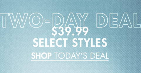 €39.99 Select Styles