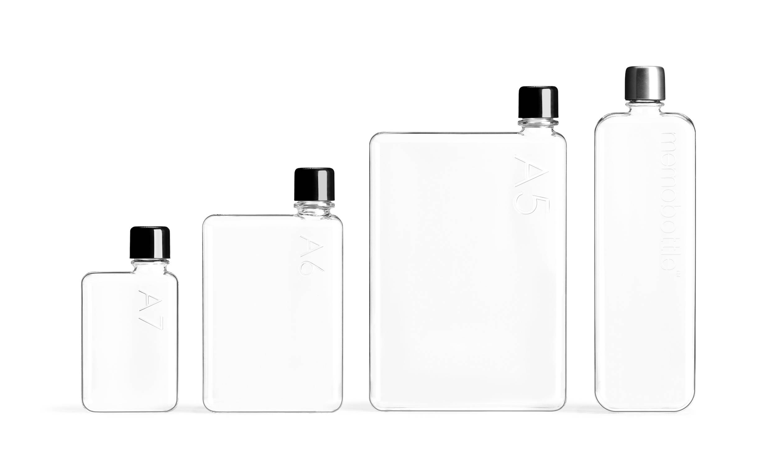 memobottle paper shaped bottles