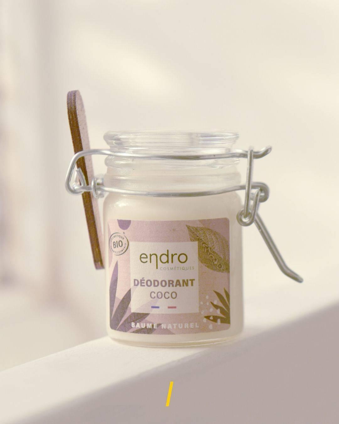 Le déodorant baume noix de coco