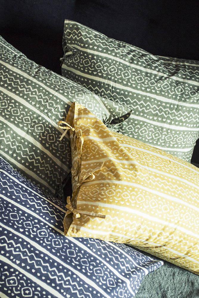 Linge de lit caravane entretien