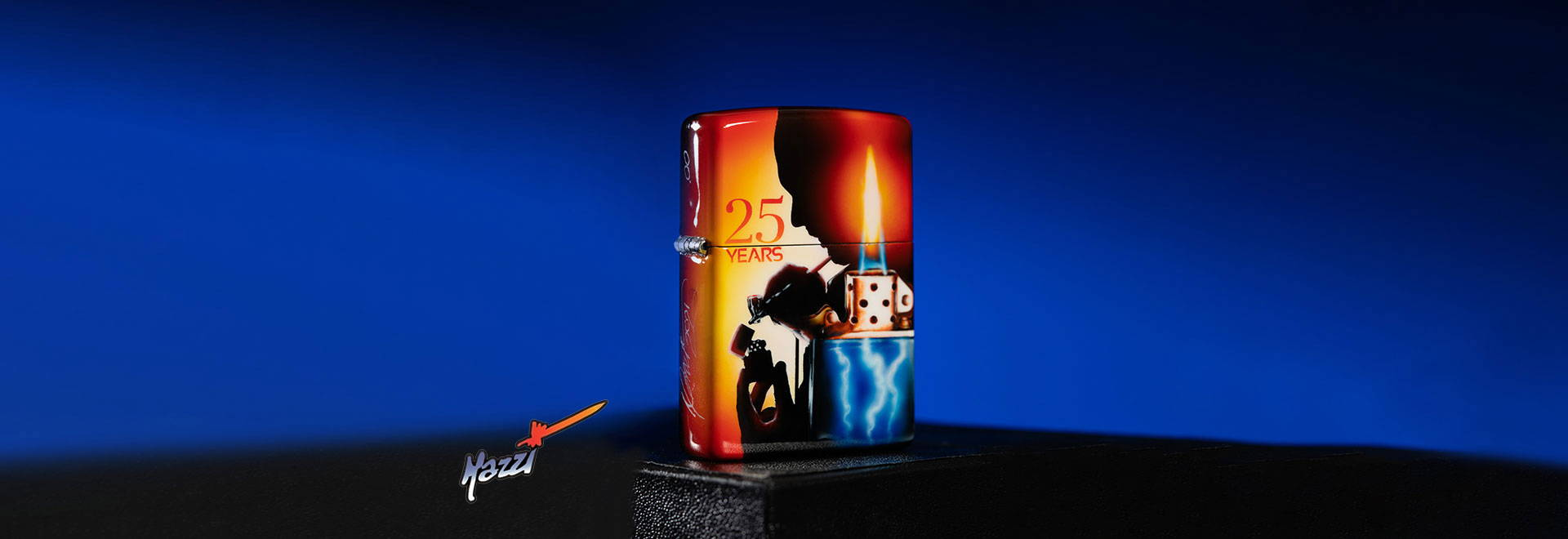 Mazzi 25th Anniversary Collectible Lighter
