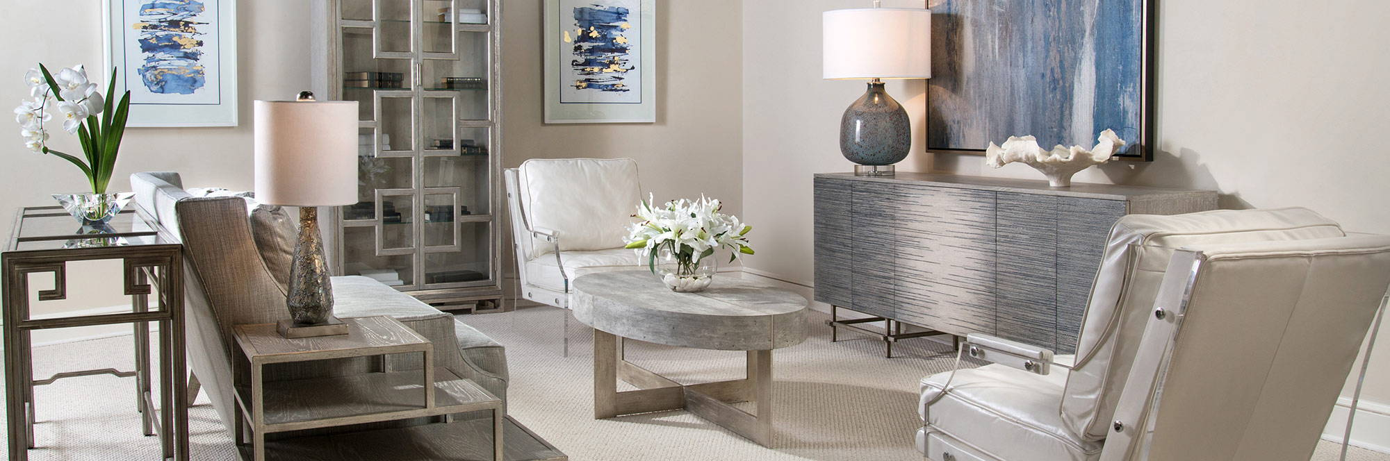 John-Richard Furniture & Home Accessories - Living Room Scheme - LuxDeco.com