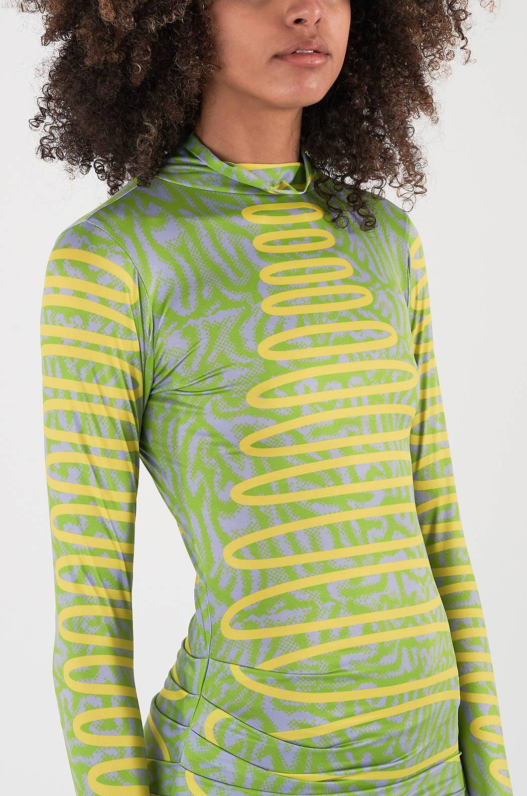 Shop the Maisie Wilen Turtleneck Dress