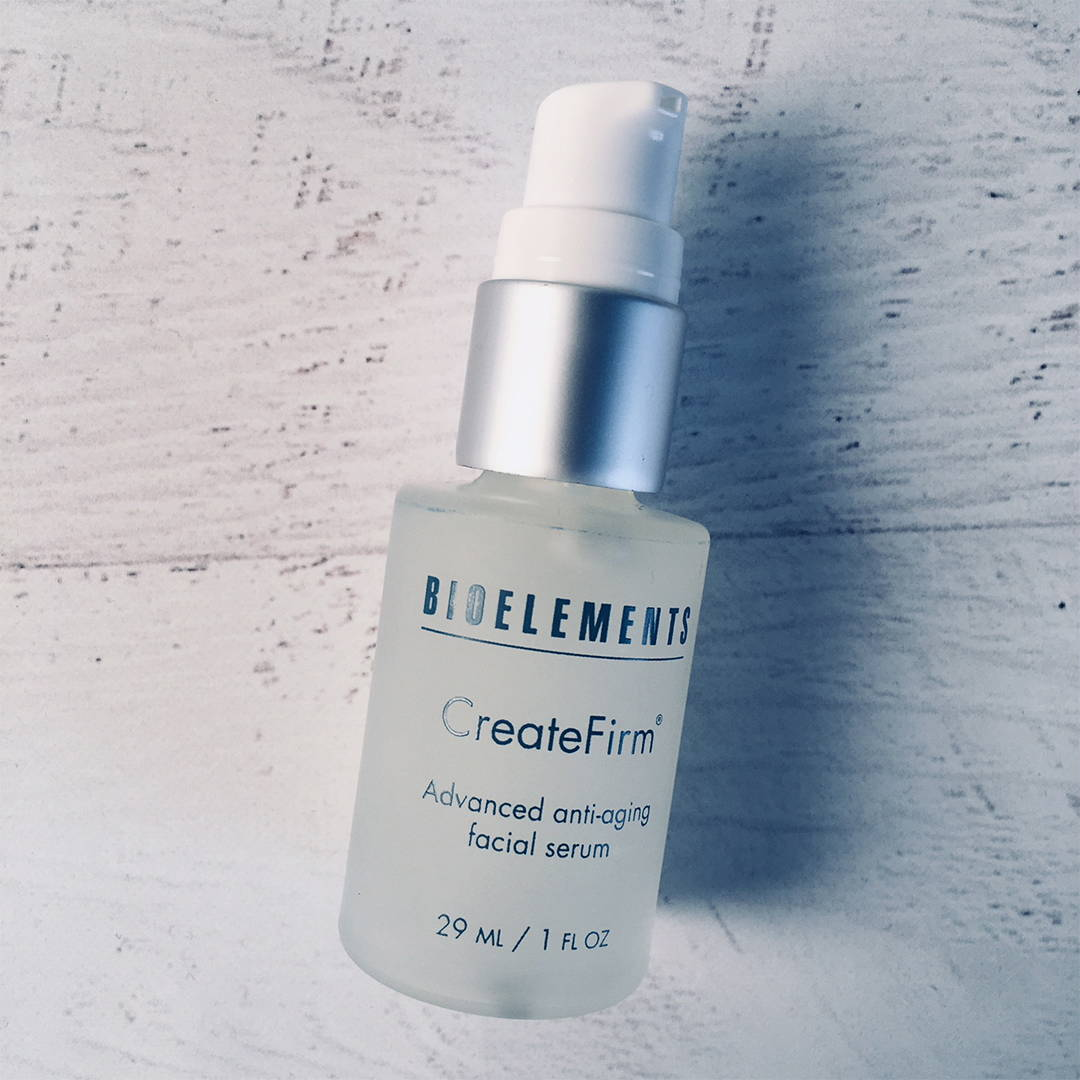 Get firmer skin with no needles using Bioelements CreateFirm and reinforce your skins protective barrier