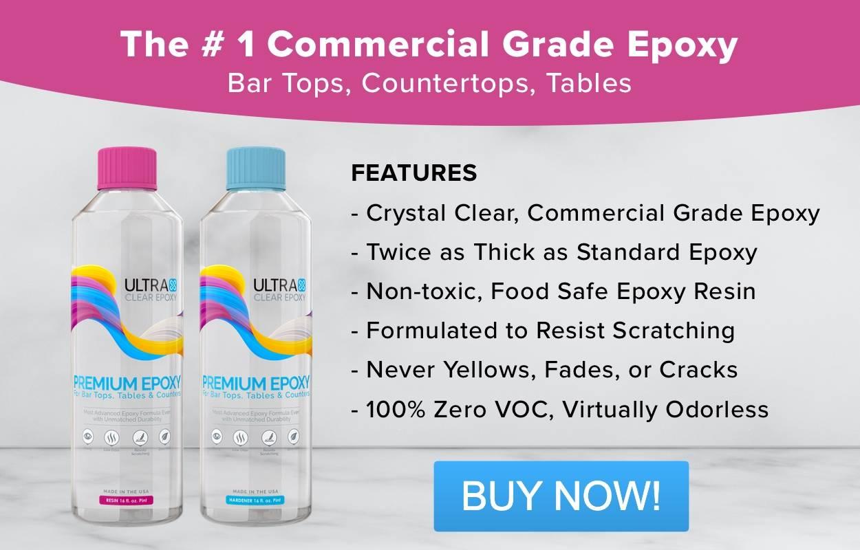 Bar Top Epoxy Finishes