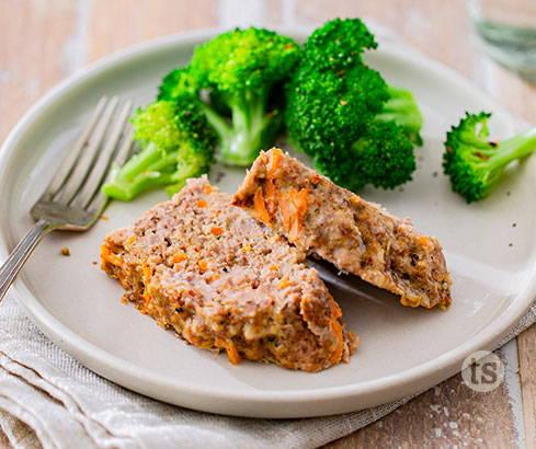 asian garlic meatloaf