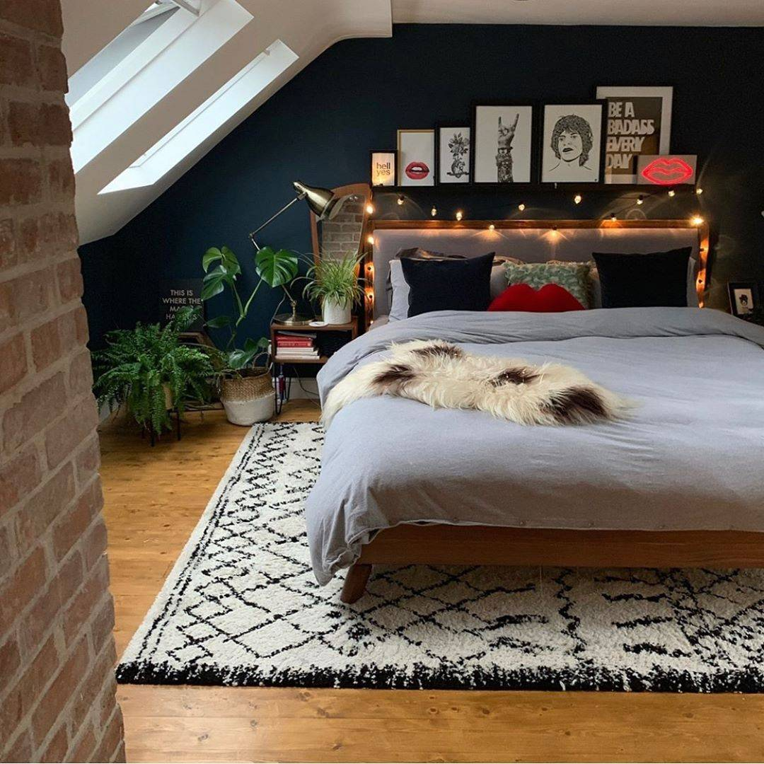 bedroom wall decor cosy
