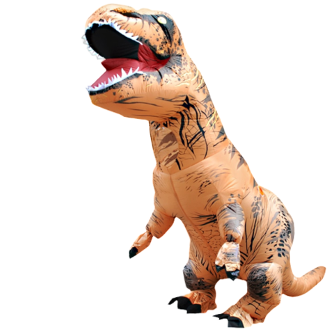 Costume t rex gonflable concours