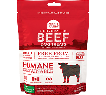 Dehydrated Grass Fed Beef Treats