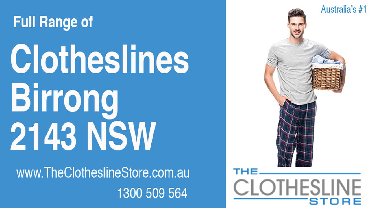 Clotheslines Birrong 2143 NSW