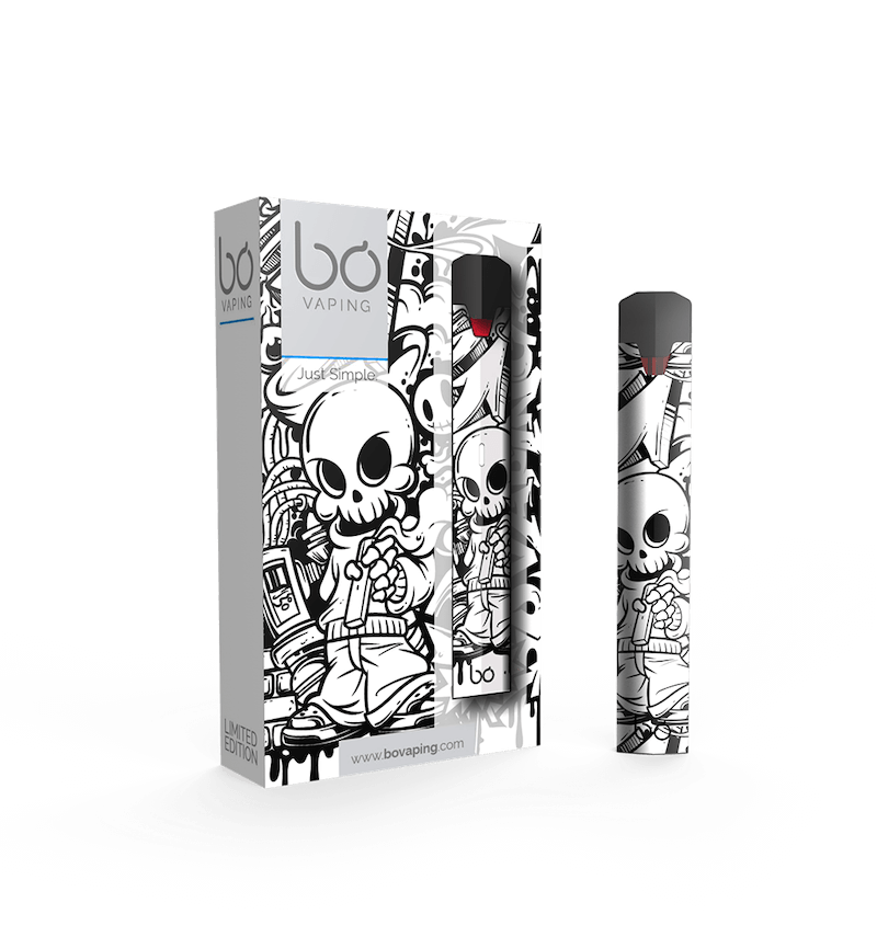 Street Art Limited Edition Bo One Vape Kit - Bo Vape