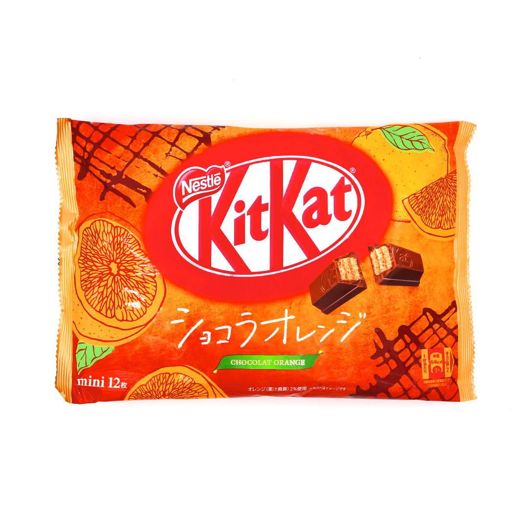 Chocolate orange kit kat