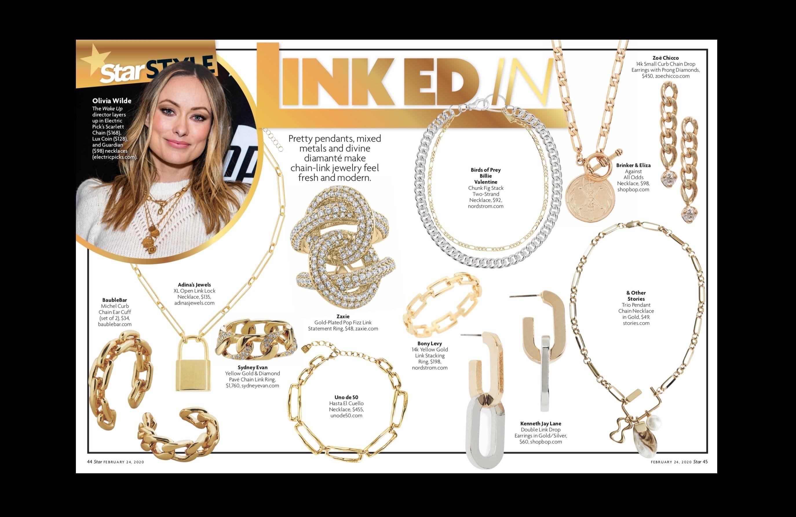ZAXIE in Star Magazine