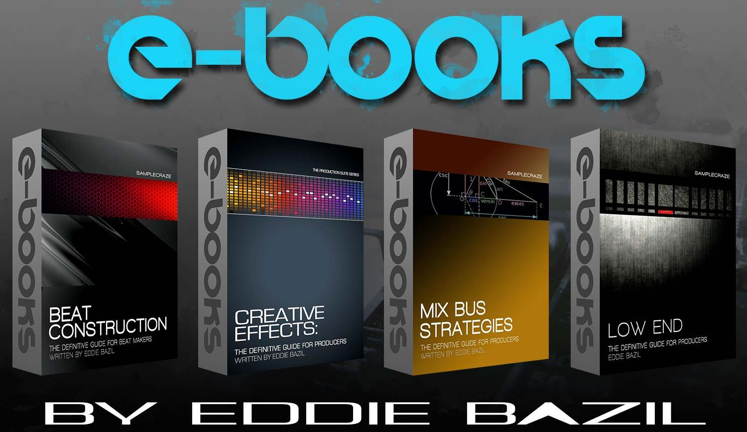 Music Production Ebooks by Eddie Bazil