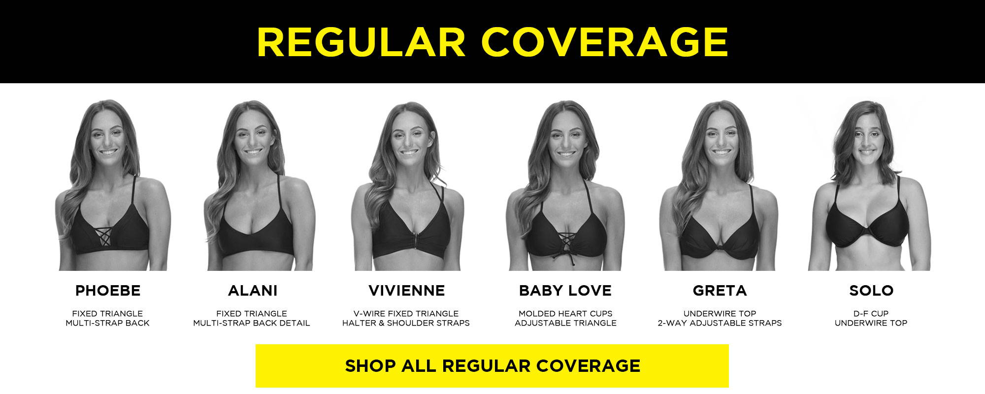 Regular Coverage Tops