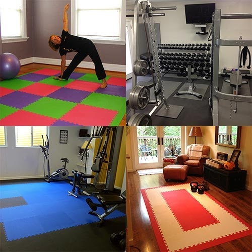 Home Gym Flooring Workout Room