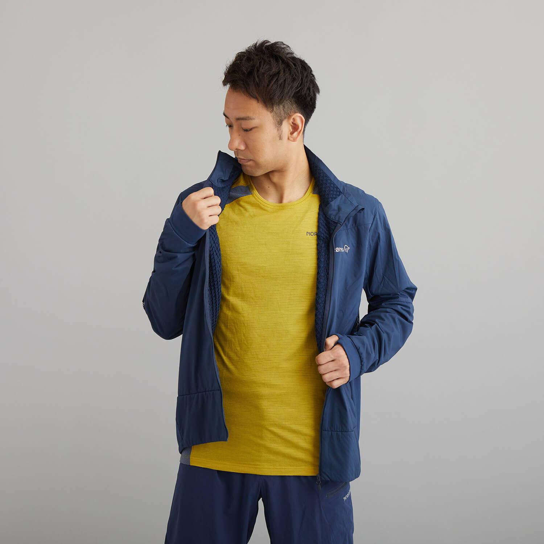 NORRONA(ノローナ)/ビティホーン ウールTシャツ