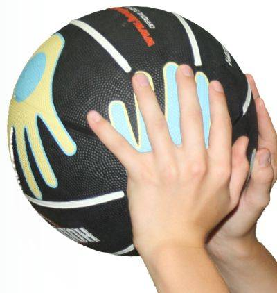 how to properly hold a basketball when shooting