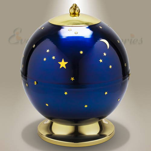 To The Moon Cremation Urn
