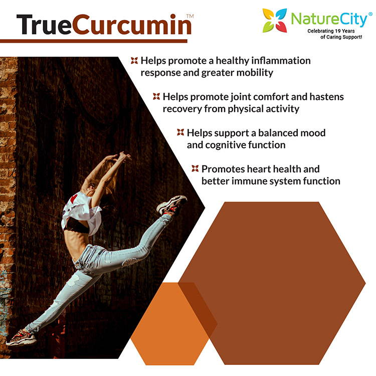TrueCurcumin - Curcumin & Turmeric Essential Oil Extract