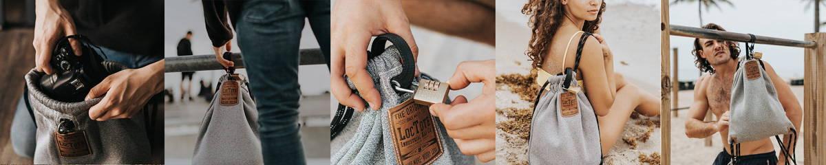 lockable backpack