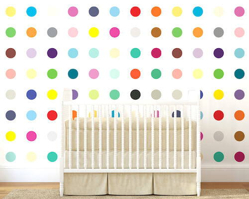 Merenda Dots Wallpaper