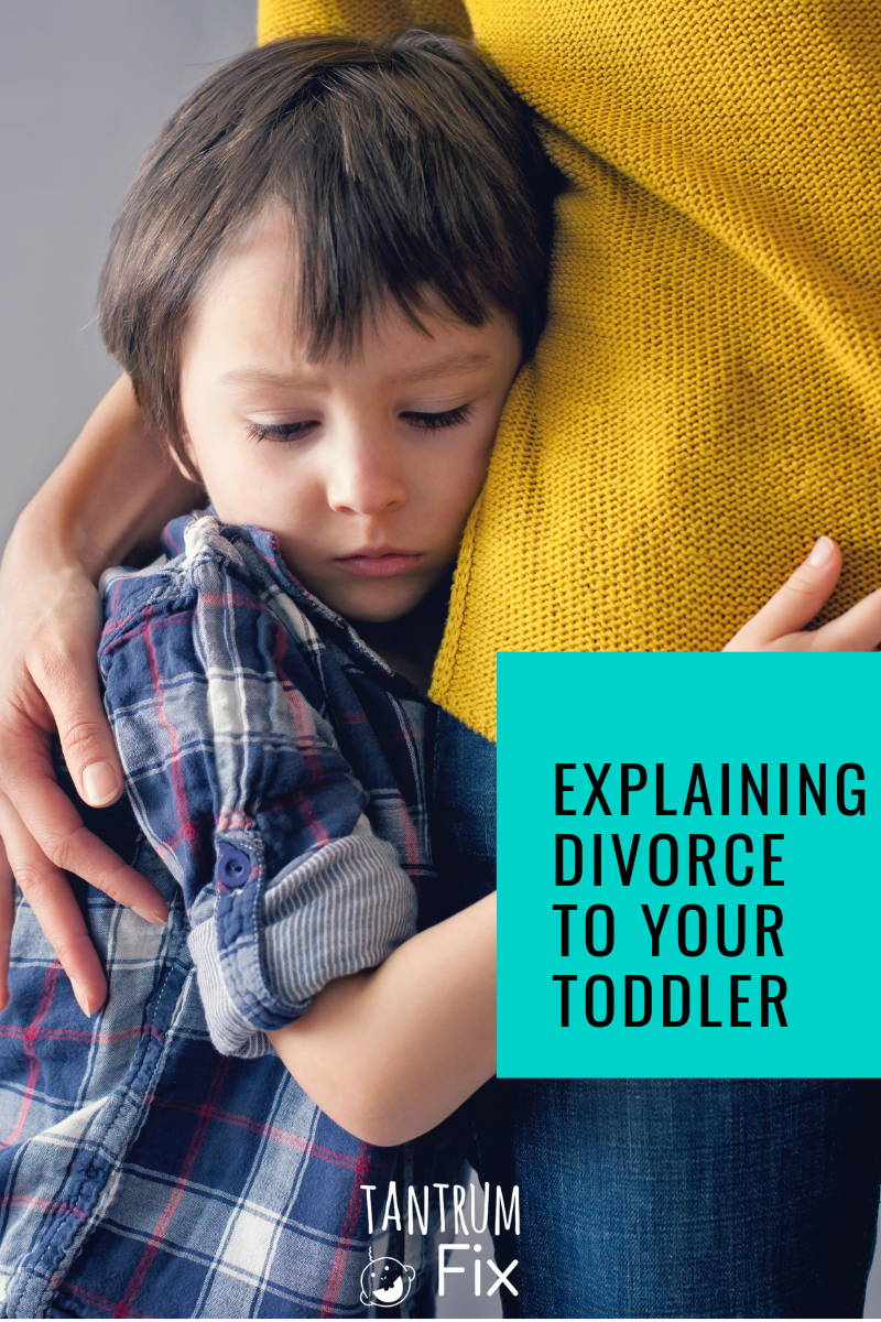 explaining divorce to toddlers
