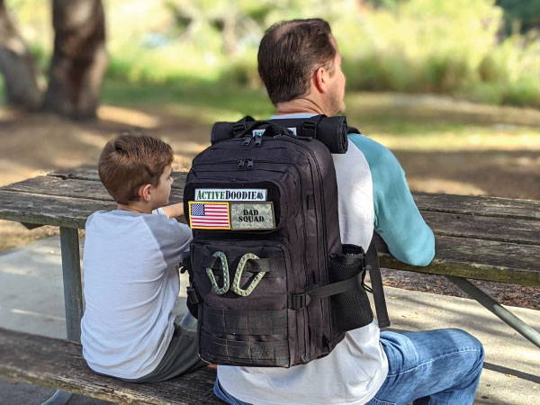 Active Doodie Dad Diaper Bags with Tactical Advantage Baby Gear