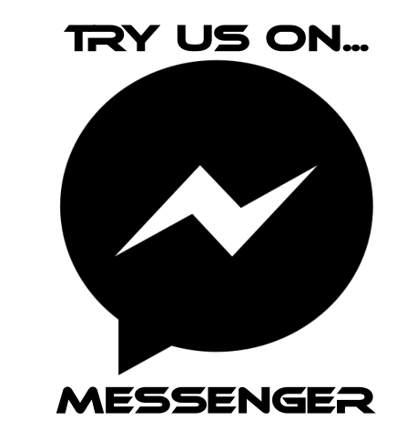 Try us on Messenger!!