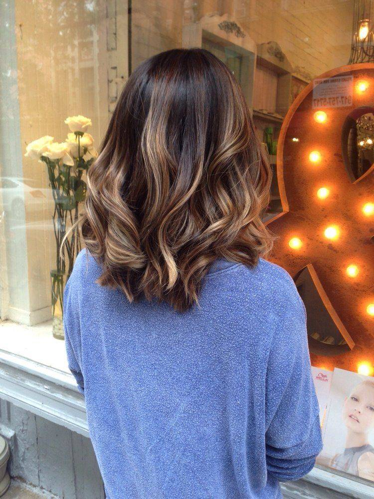 Short Hair With Specks Of Caramel And Blond