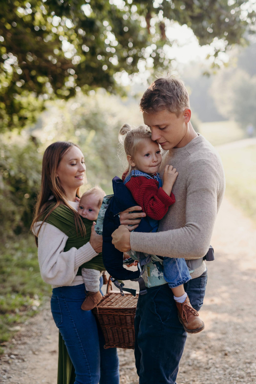 Babywearing family