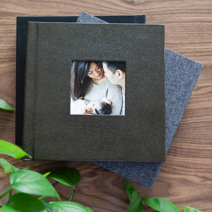 10x10 Eco-Leather Photo Album in Wildwood