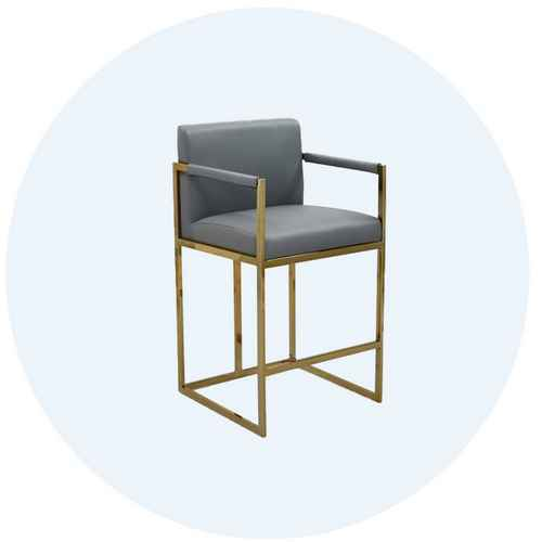 Image of grey counter stool with link to counter stools