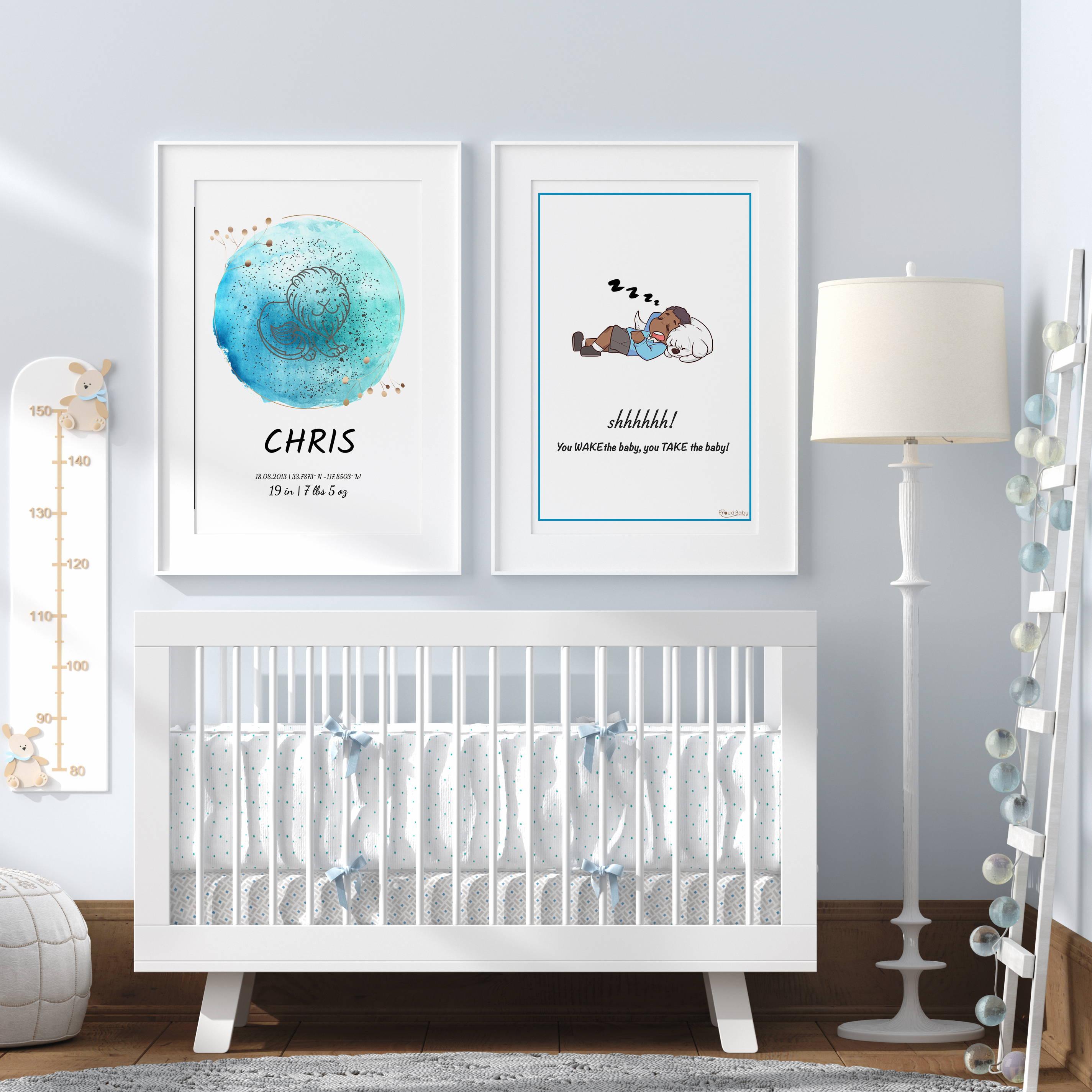 Proud Baby Nursery Posters